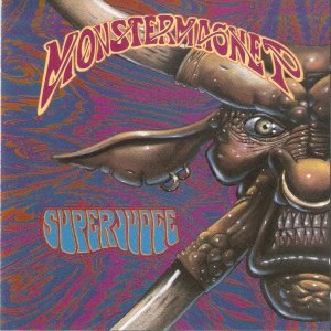 Monster Magnet - Superjudge cover art
