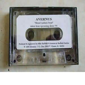 Avernus - Blood Gathers Frost cover art