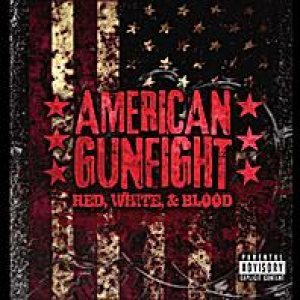 American Gunfight - Red, White, & Blood cover art