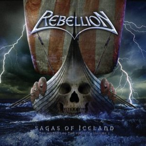 Rebellion - Sagas of Iceland - the History of the Vikings - Volume I cover art