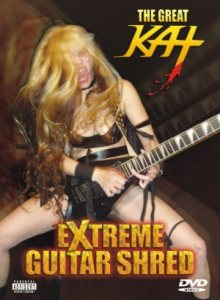 The Great Kat - Extreme Guitar Shred cover art