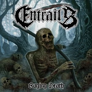 Entrails - Raging Death cover art
