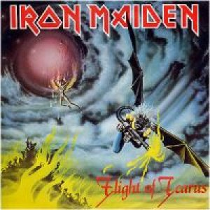 Iron Maiden - Flight of Icarus cover art