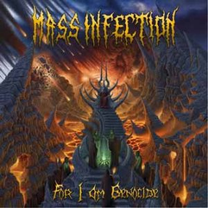 Mass Infection - For I Am Genocide cover art
