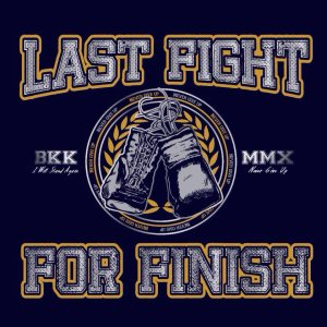 Last Fight For Finish - I WILL STAND AGAIN. cover art