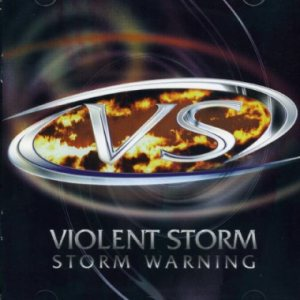 Violent Storm - Storm Warning cover art