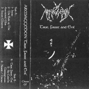 Armaggedon - True, Frost and Evil cover art