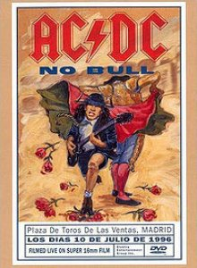 AC/DC - No Bull cover art
