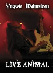 Yngwie Malmsteen - Live Animal cover art