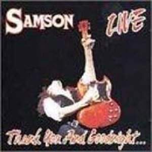 Samson - Thank You and Goodnight cover art
