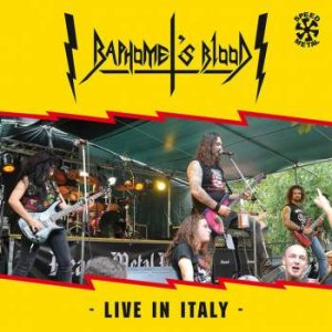 Baphomet's Blood - Live in Italy cover art