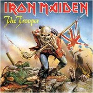 Iron Maiden - The Trooper cover art