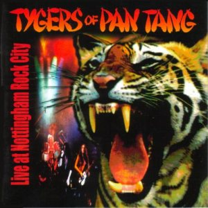 Tygers Of Pan Tang - Live at Nottingham Rock City cover art