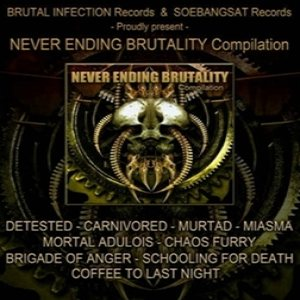 Coffee to Last Night - Never Ending Brutality cover art