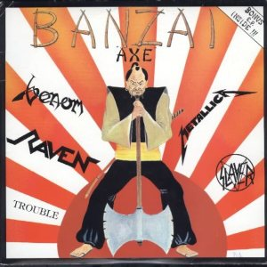 Various Artists - Banzai Axe cover art