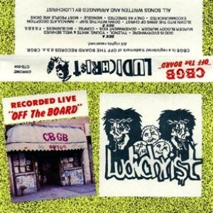 "Ludichrist - CBGB ""Off the Board"" cover art"