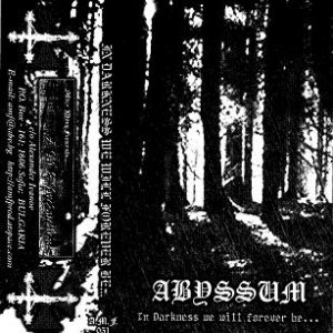 Abyssum - In Darkness We Will Forever Be... cover art