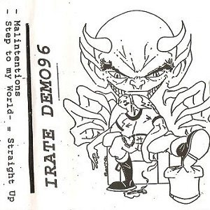 Irate - Demo 1996 cover art