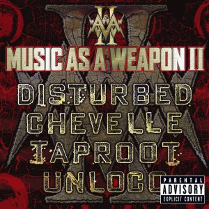 Disturbed - Music As a Weapon, Vol. 2 cover art