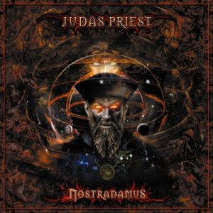 Judas Priest - Nostradamus cover art