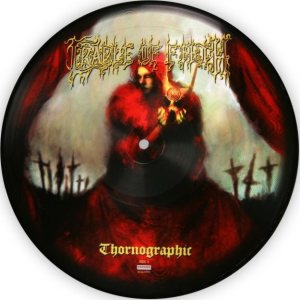 Cradle of Filth - Thronographic cover art