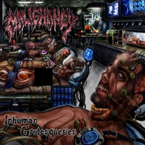 Malignancy - Inhuman Grotesqueries cover art