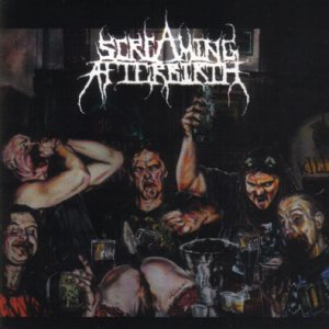 Screaming Afterbirth - Drunk on Feces cover art