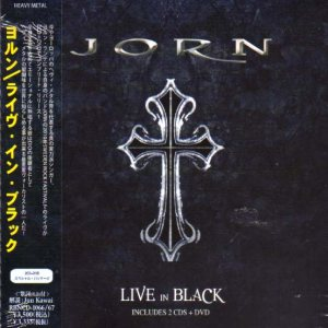 Jorn - Live in Black cover art