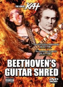 The Great Kat - Beethoven's Guitar Shred cover art
