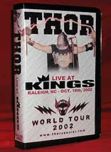 Thor - Live at Kings in Raleigh, NC - Oct. 18th, 2002 cover art
