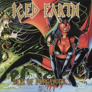 Iced Earth - Days of Purgatory cover art