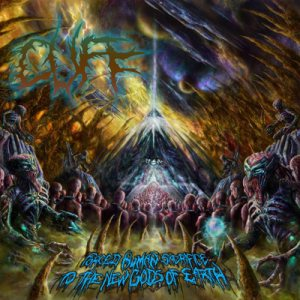 Cuff - Forced Human Sacrifice to the New Gods of Earth cover art