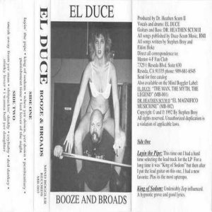 El Duce - Booze and Broads cover art