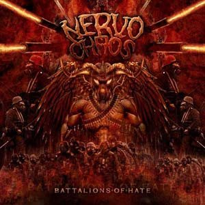 Nervochaos - Battalions of Hate cover art