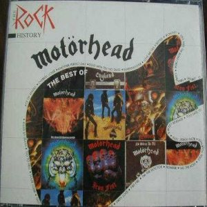 Motorhead - The Rock History - the Best Of cover art