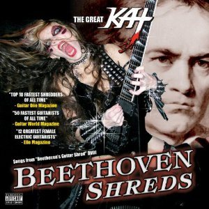 The Great Kat - Beethoven Shreds cover art