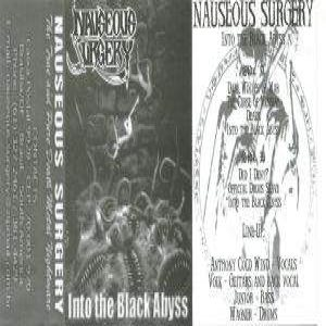 Nauseous Surgery - Into the Black Abyss cover art