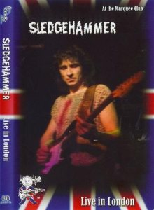 Sledgehammer - Live in London cover art