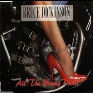 Bruce Dickinson - All the Young Dudes cover art