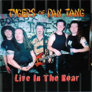 Tygers Of Pan Tang - Live in the Roar cover art