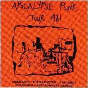 The Exploited - Apocalypse Punk Tour 1981 cover art