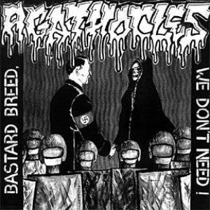 Agathocles - Bastard Breed We Don't Need/Split EP with Vomit Fall cover art