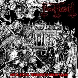 Necromessiah - Antiklerical Terroristik Death Squad cover art