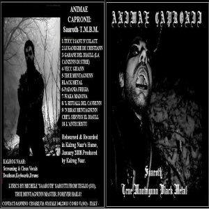 Animae Capronii - Saaroth-True Muntagnunn Black Metal cover art