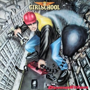 Girlschool - Demolition cover art