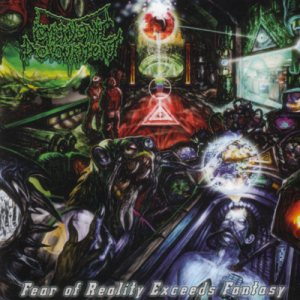 Embryonic Devourment - Fear of Reality Exceeds Fantasy cover art