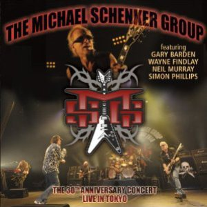 Michael Schenker Group - Live in Tokyo 2010  - MSG 30th Anniversary Concert cover art