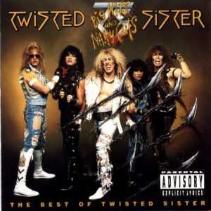 Twisted Sister - Big Hits and Nasty Cuts Best of Twisted Sister cover art