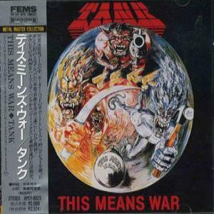 Tank - This Means War cover art