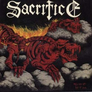Sacrifice - Torment in Fire cover art